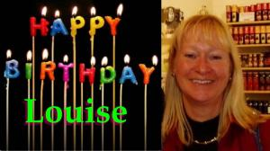 happy birthday louise