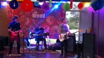 The Breed - photo taken during soundcheck