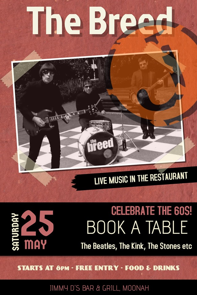 The Breed @ Jimmy D's 25th May 2019