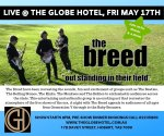 The Breed @ The Globe Hotel 17th May2019